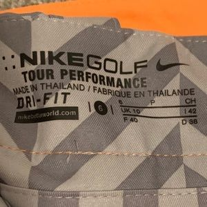 Nike Shorts - Nike golf skirt in coral and grey